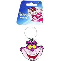 Monogram International Soft Touch PVC Key Ring, Alice in Wonderland Cheshire Cat Head