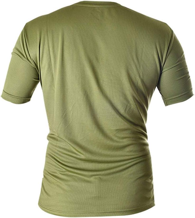 Siux Camiseta Dry Verde Militar Negro: Amazon.es: Deportes y aire ...