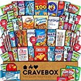 CraveBox Care Package (60 Count) Snacks Food
