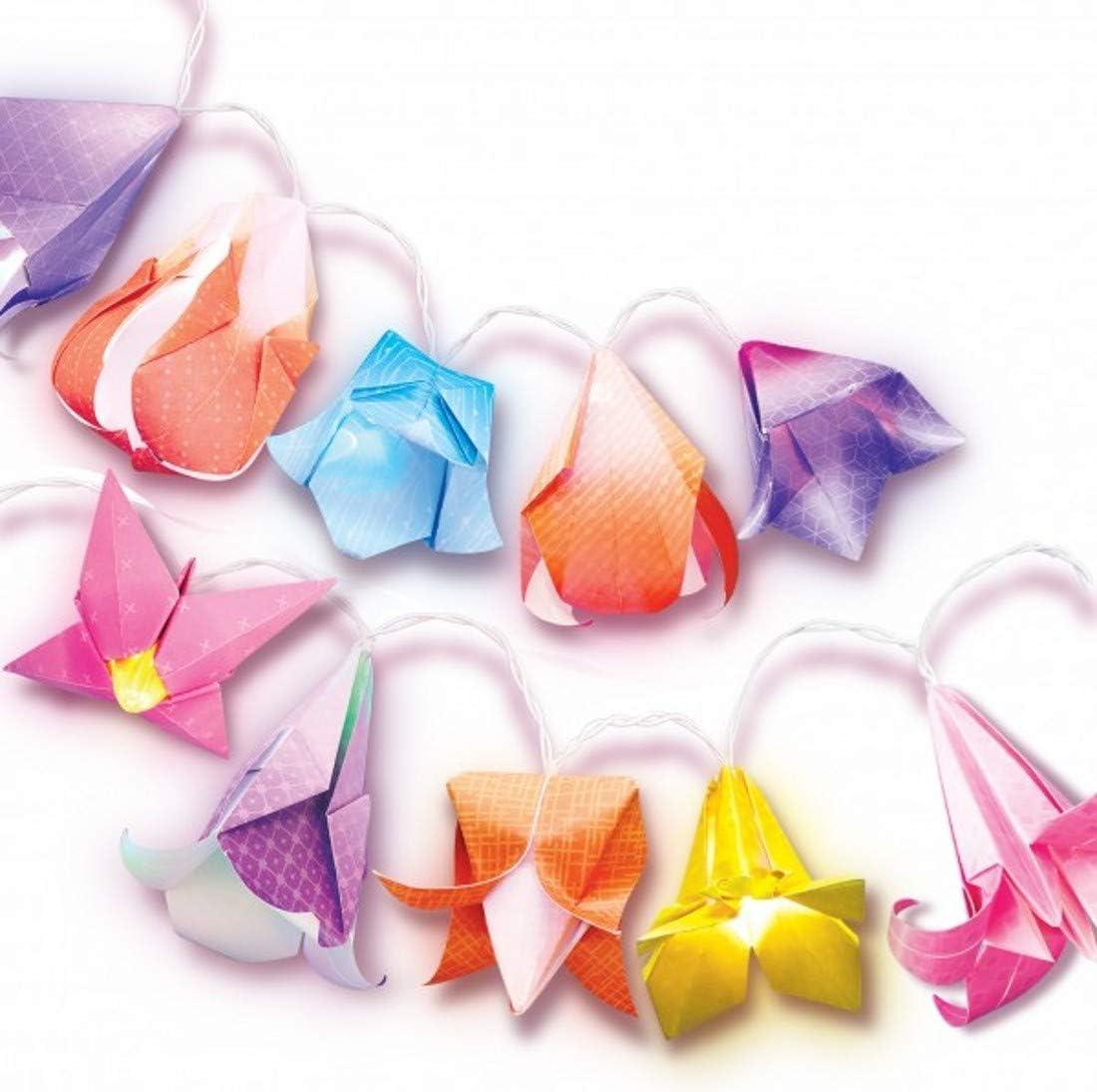 4M KidzMaker Flower Lights Origami