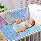Leegoal Bumud Baby & Toddler Waterproof Washable Diaper Changing Mat Pad(Design and Color Random)