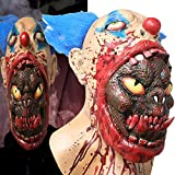 Deluxe Novelty Halloween Costume Party Latex Animal Head Mask - Pig (Brown Horse)