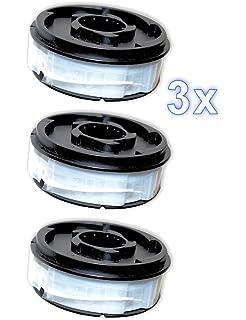 3 X Ersatzfadenspule Für Rasentrimmer Fadenspule Gardenline