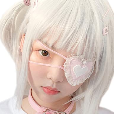 Amazon Com Yomorio Anime Cosplay Eye Mask Lolita Girls Cute