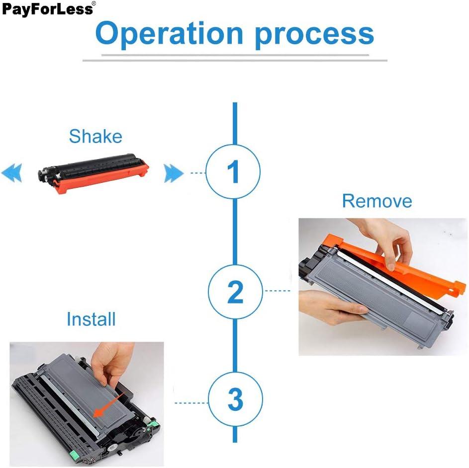 TN570 TN560 PayForLess TN580 TN-580 TN650 TN-650 Toner Cartridge Compatible for Brother HL-5370dw HL-5250dn HL-5240 HL-5340d HL-5140 HL-5350dn HL-5280dw DCP-8065dn MFC-8480dn MFC-8460n MFC-8670dn