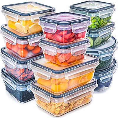 Container New  Gift 5-Piece Stainless Steel storage bowl Set with Plastic Lids