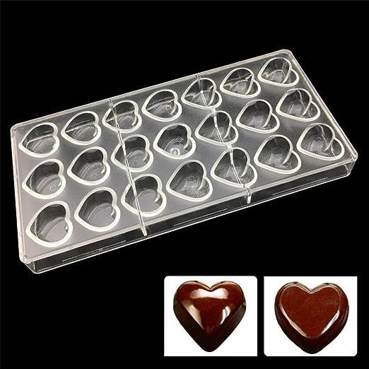 Vak 21 agujeros bandeja de forma de corazón para hornear de horno ...