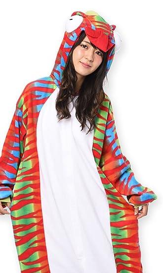 Chameleon Kigurumi - Adults Costume