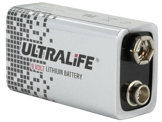 Amazon.com: Ultralife U9VL-JPBP General Purpose Battery - 9V - Lithium Manganese Dioxide - 9 V DC: Health & Personal Care