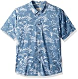 Quiksilver Waterman Mens Palmitoto Regular Fit Button Down Shirt