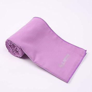 MATCHANT Toalla Deportiva de Microfibra con absorción de Sudor, sensación fría, Toalla de Yoga con Funda de Silicona: Amazon.es: Hogar