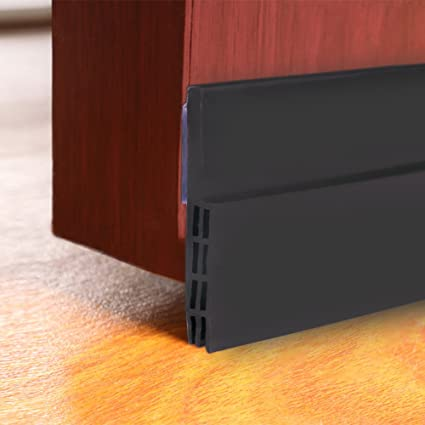 COCODE Under Door Sweep Weather Stripping Door Draft Stoppers, Self  Adhesive Door Bottom Seal Strip