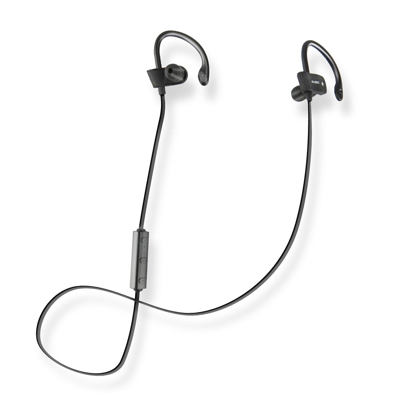 Flymemo Freesolo Bluetooth 4.1 Sport Earbuds IPX4 Sweatproof for Running Workout Gym in-Ear Sports Earphone Headphones