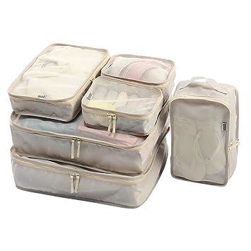 Sarazong Conjunto De 6 Cubos De Embalaje, Organizador De ...