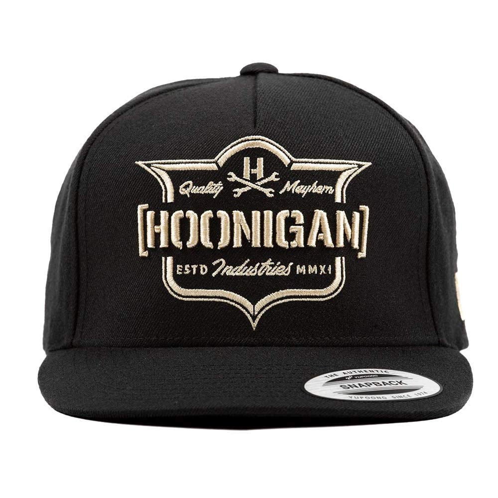 Hoonigan Emblem Snapback hat