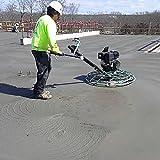 Power Trowel Blades - Set of 4 Concrete Trowel