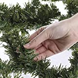 Factory Direct Craft 2 Sets of 9 Foot Long Artificial Canadian Pine Garlands