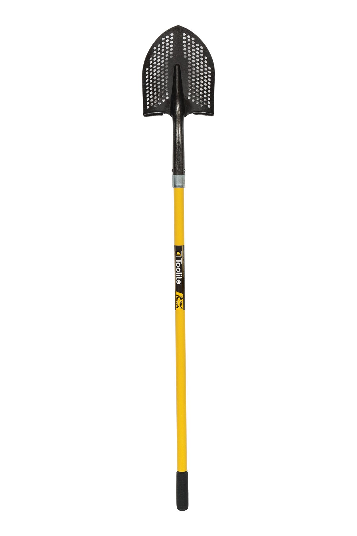 Toolite 49500#2 Round Point Shovel, 48'' Yellow Fiberglass Handle by Toolite
