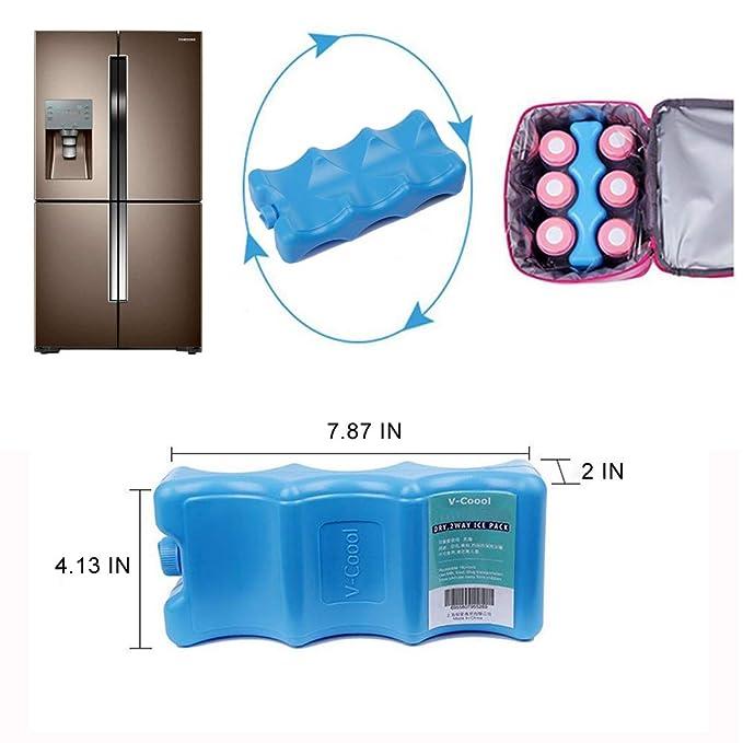 Amazon.com: Bolsa de refrigeración aislada, bien hecha para ...
