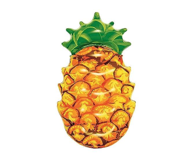 takestop Piña Porción Pineapple Amarillo Verde inflable colchón ...