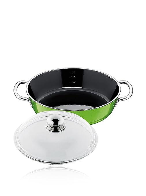 Silit Sartén de 28 cm, Lemon Green/Pan Stewing/Sartén ...