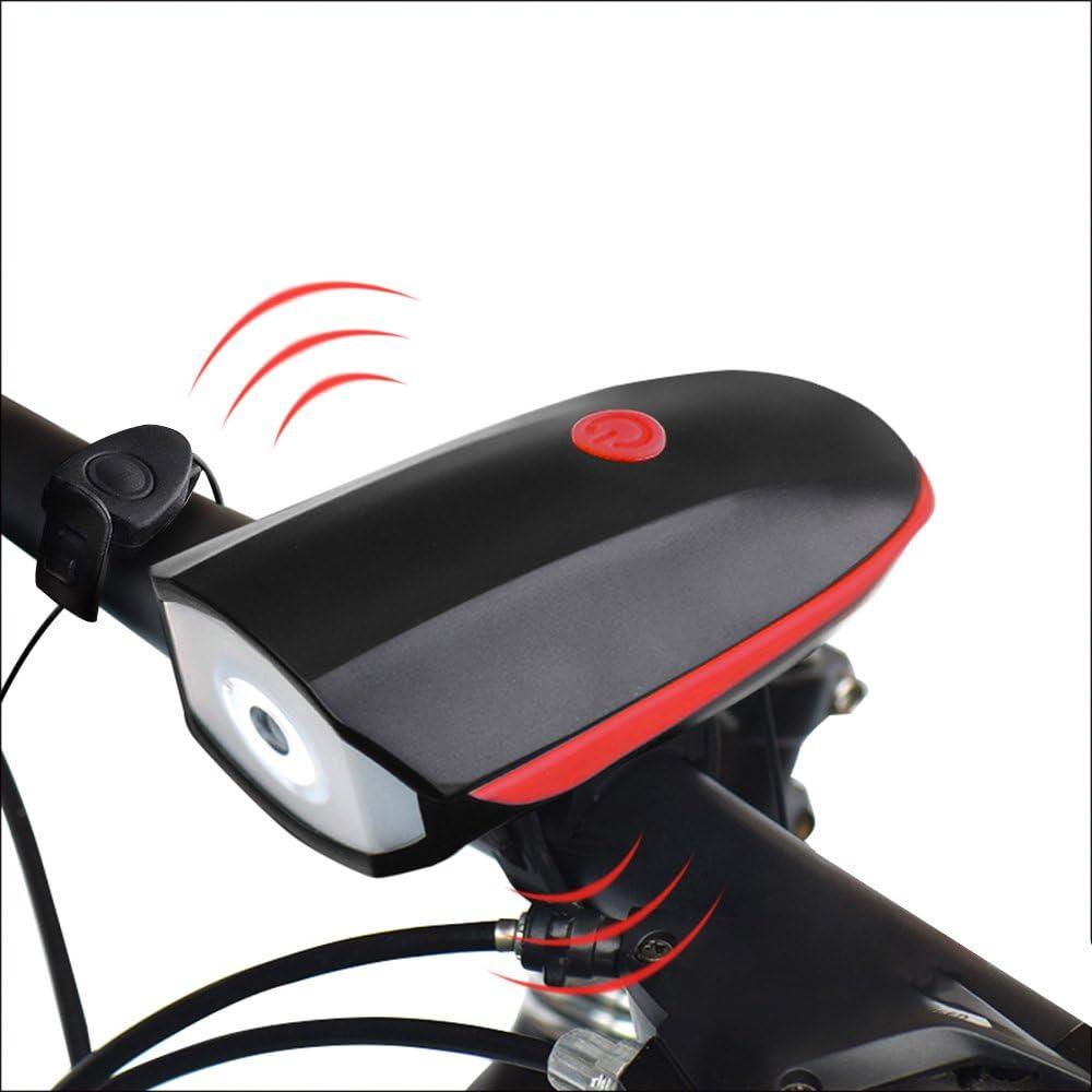 Juego de la luz del bicicleta con Claxon impermeable XPG LED ...