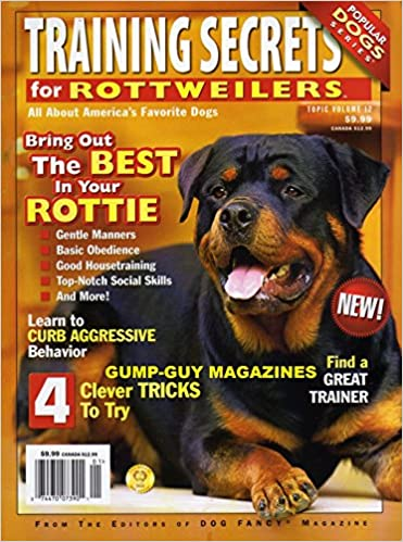 Training Secrets For Rottweilers Of Dog Fancy Magazine Curb