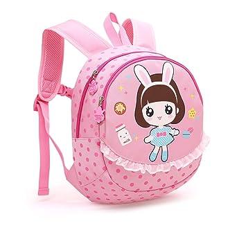 Mochila para bebés, Cute Animals Nursery School Bag para niños pequeños de 1 a 5