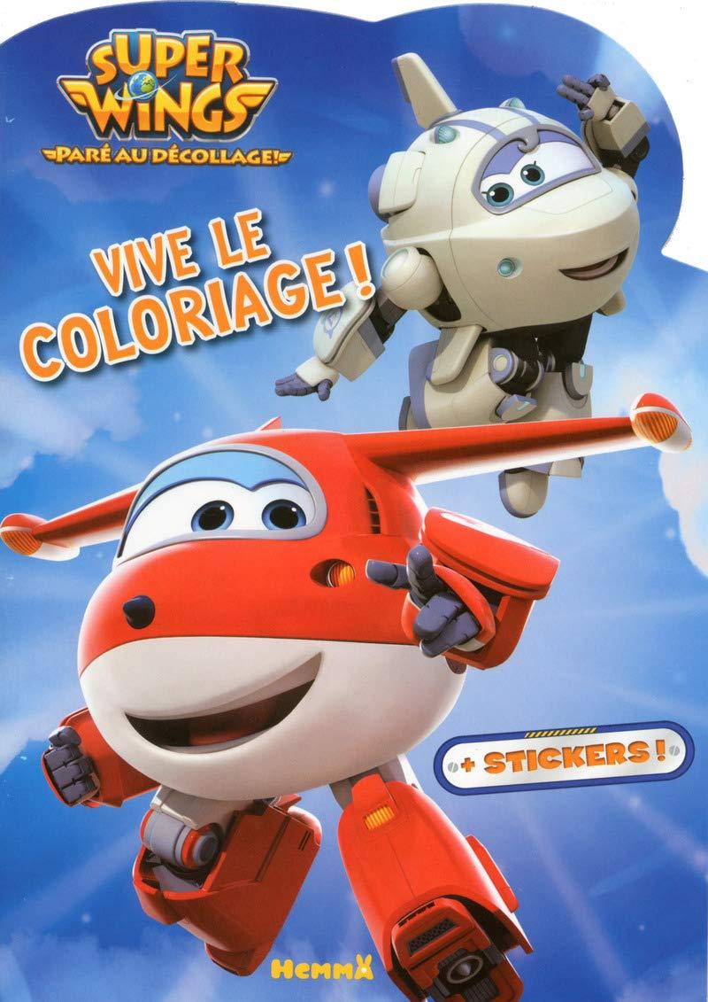 Super Wings Vive Le Coloriage Astra Et Jett French Edition Collectif 9782508039560 Amazon Com Books