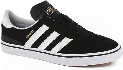difícil Sophie Decrépito  Adidas Busenitz Vulc Skate Shoes - Black/White/Black - 10.5: Amazon.ca:  Shoes & Handbags