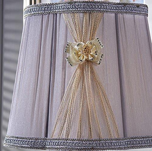 HH Simple Modern Luxury Living Room Bedroom Study Crystal Large Lamp by FJB (Image #2)