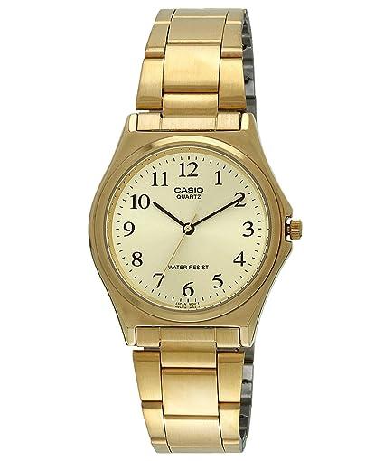 520aa989604 Casio - MTP-1130N-9B Men s Analogue Quartz Watch – Stainless Steel Strap -