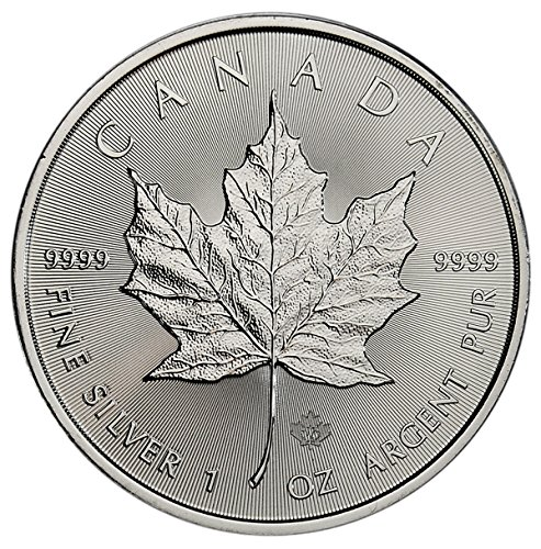 2017 CA Maple Leaf $5 Gem (Silver Maple Leaf Bullion)