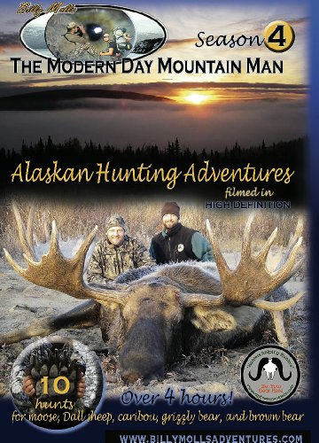 Season 4, The Modern Day Mountain Man: Alaska hunting for Grizzly Bear, Brown Bear, Dall Sheep, Caribou, and Moose. Over 4 hours! 10 complete hunts!