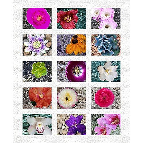 (Windham Homeward Flower Garden 46'' Panel Multi Fabric)
