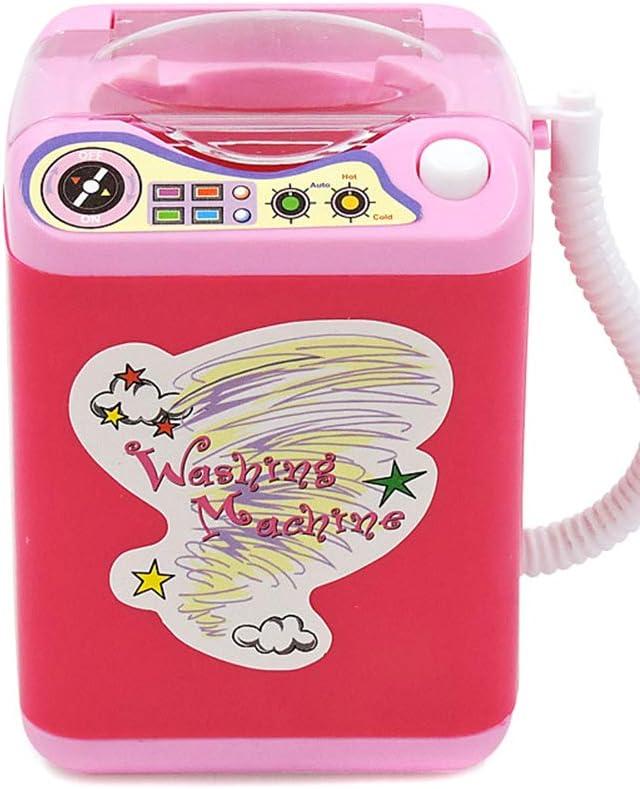 Fanville Laundry Cleaning Playset Wash Day Launderette Washing Machine Mini Multifunction Kids Washing Machine Toy Beauty Sponge Brushes Washer