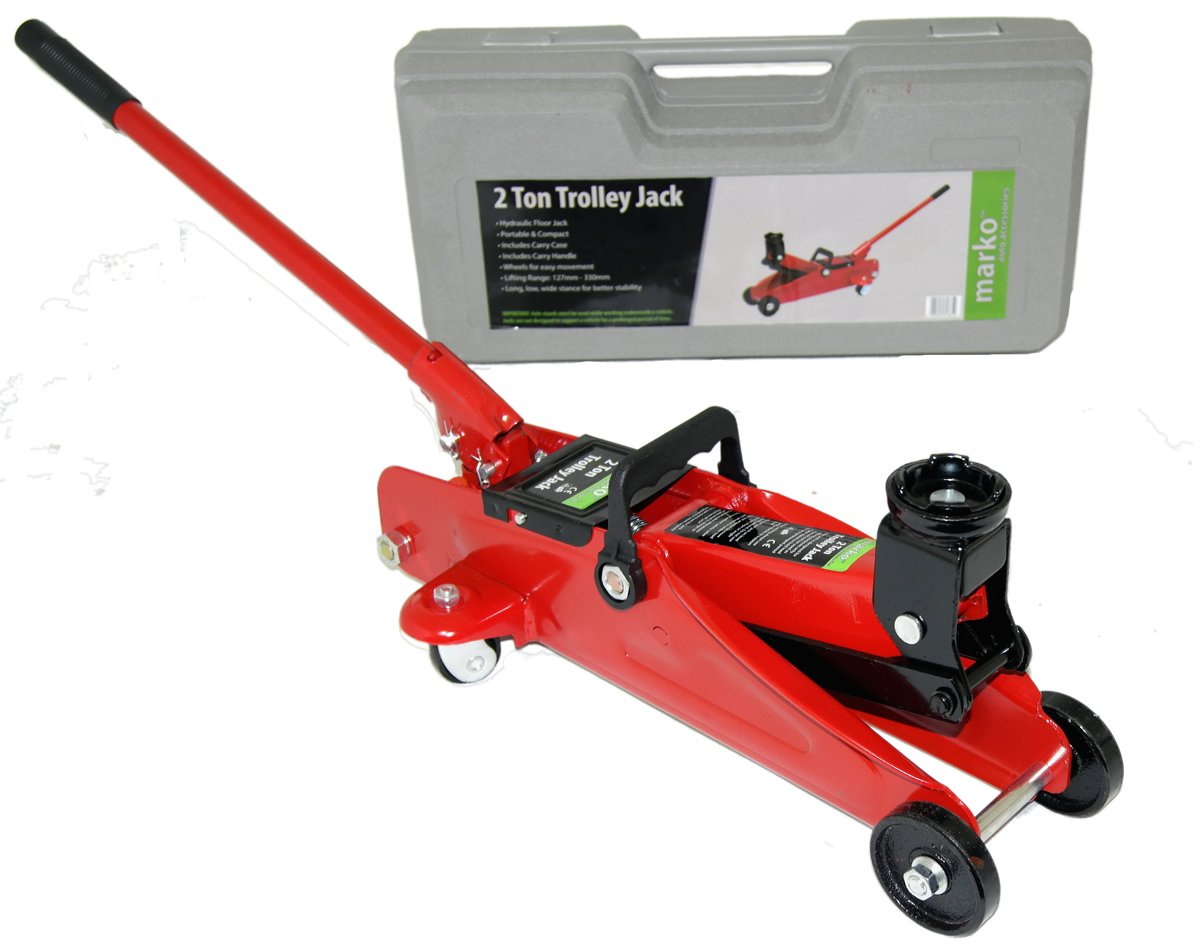 how to use a trolley jack