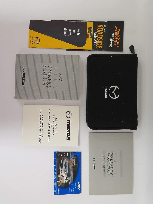 2002 Mazda Mpv Repair Manual