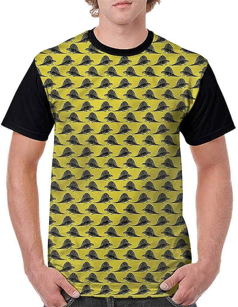 Casual Short Sleeve Graphic Tee Shirts,Majestic Silhouettes Fashion Personality Customization