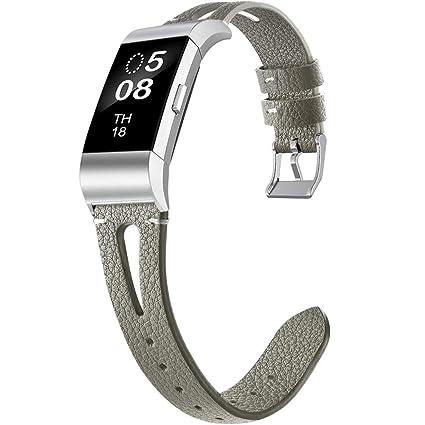 OenFoto Correa Compatible Fitbit Charge 2, Reemplazo ...