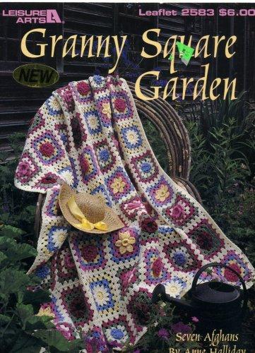 (Granny Square Garden Afghans to Crochet (Leaflet 2583))