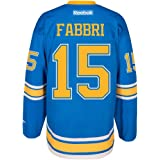 2327187ef Reebok Robby Fabbri St Louis Blues NHL Blue 2017 Official Winter Classic Premier  Jersey for Men