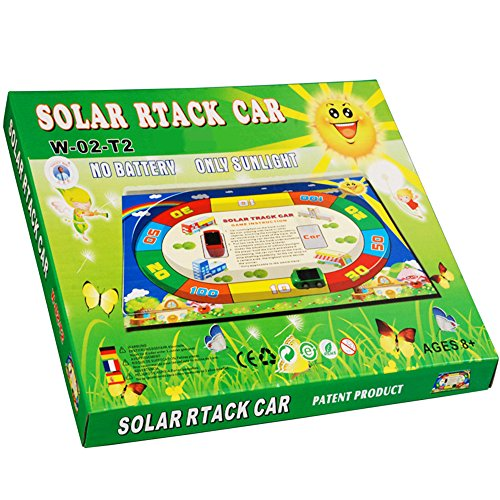 amenon plastic diy solar car kit for kids