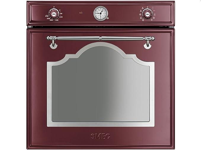 Smeg sf750rwx Forno vino rosso funzione di pulizia forno a ...