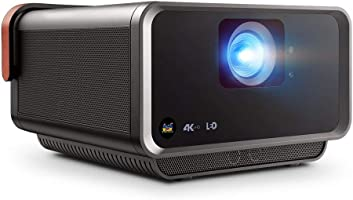 ViewSonic True 4K UHD Short Throw LED Portable Smart Home Theater Projector Compatible with Amazon Alexa and Google...
