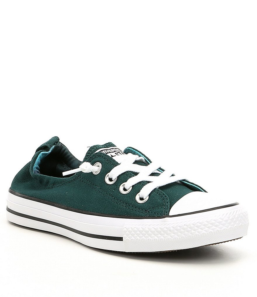 Converse Chuck Taylor All Star Shoreline Teal/White/Black Lace-Up Sneaker - 9 B(M) US