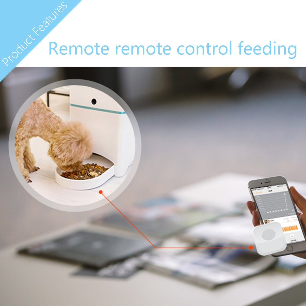 timer w product pet shop cat rakuten compass station meal at auto automatic smartphone pt remote control feed dispenser ce dog feeder