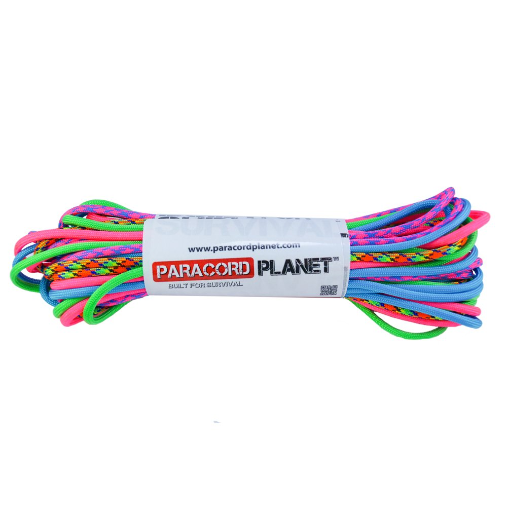 PARACORD PLANET 550lb Paracord Combo Crafting Kits 5 Colors 50 Feet Total