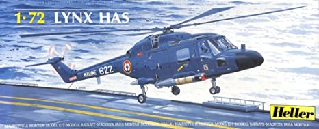 Amazon.com: Heller 1:72 Lynx Has Plastic Helicopter Model ...