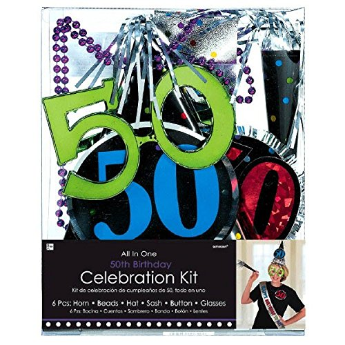 Amscan 50th Birthday Party Kit ()